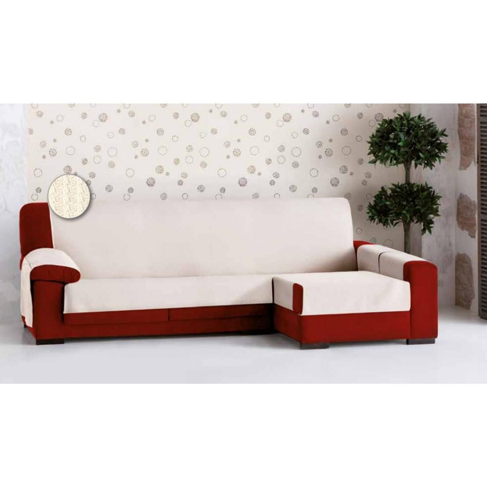 Funda chaise longue bianca textil hogar payma - Funda de chaise longue ...